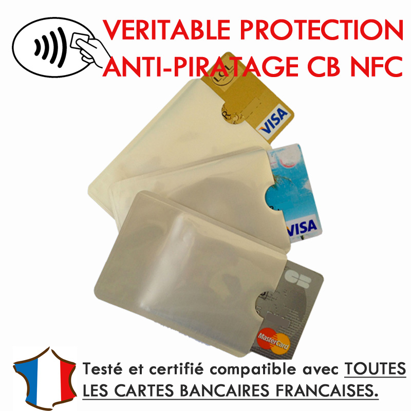 protection carte bancaire sans contact Protection carte bancaire NFC : Démonstration & Solution