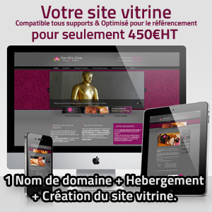 Votre site vitrine sur Internet